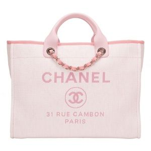 [ISO] CHANEL Deauville Tote Bag Pink